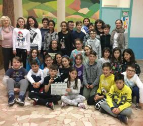 """Gli alunni dell'I. S. """"V. Tortoreto"""" di San Ginesio si danno al cinema: presentazione del cortometraggio """"Due Tribù"""""""