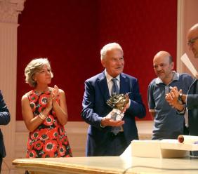 """Premio UCID """"Giuseppe Guzzini"""", vince l'ingegner Severino Capodagli: """"Lo dedico ai miei dipendenti e alla mia famiglia"""" - FOTO"""