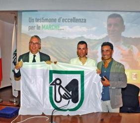 """Turismo, Vincenzo Nibali testimonial delle Marche: """"Voglio tornare in vacanza"""""""