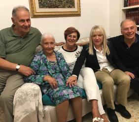 San Severino, Silvia Bisonni spegne 102 candeline: gli auguri del sindaco Piermattei