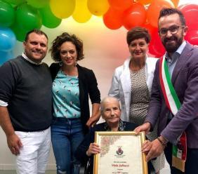 Monte San Giusto, Viola Salvucci compie 100 anni