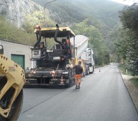 """342mila euro per i lavori di pavimentazione della strada provinciale """"Pioraco-Sefro"""""""