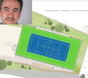 Petriolo, erogazione dello sport bonus per la riqualificazione dell'impianto sportivo di via Leopardi (FOTO)