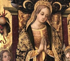 La Madonna del Crivelli della Pinacoteca di Sarnano in mostra ad Ascoli Piceno e a Roma