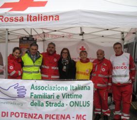 """Potenza Picena, giornata in ricordo delle vittime della strada: """"La prevenzione degli incidenti sia priorità di governo"""""""