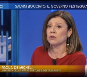 """Sisma, De Micheli : """"La ricostruzione è ferma per colpa dei cittadini"""" (VIDEO)"""