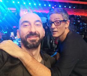 Dopo Sanremo, un inizio anno a tutto spettacolo per l'hair stylist montecosarese Roberto Acquaroli (FOTO)