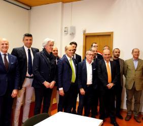Confindustria Macerata: il neo presidente Domenico Guzzini presenta programma e squadra (FOTO e VIDEO)