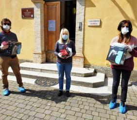 San Severino, il Consiglio comunale dona 500 mascherine alla Casa di riposo