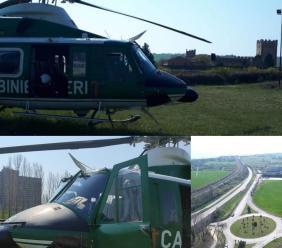Coronavirus, maxi operazione dei carabinieri nel Maceratese: controlli anche dall'alto con l'elicottero (VIDEO)