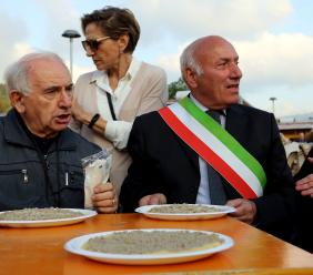 Lo speciale legame tra Don Peppe e la comunità di Muccia: il ricordo del Sindaco Mario Baroni (FOTO)