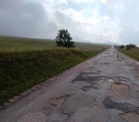 Lavori alla Provinciale Acquacanina–Maddalena di Bolognola: interventi per 200.000 euro