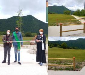 Natura senza barriere: a Pian dell'Elmo un'area di sosta e picnic per disabili