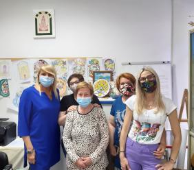 Ospedale San Severino, donata macchina anti-caduta capelli al reparto di oncologia