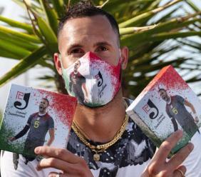 Una mascherina speciale per sostenere la ricerca sul Cancro: la sfida di Osmany Juantorena (FOTO)