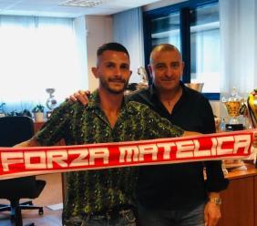 Serie C, terza conferma per il Matelica: bomber Leonetti resta in biancorosso