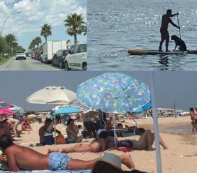 Civitanova, il ferragosto non sente Covid: dal lungomare nord al sud, la vita di spiaggia è (quasi) quella di sempre