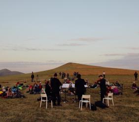 RisorgiMarche, due concerti all'alba e al tramonto sui Monti Sibillini