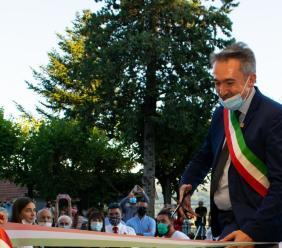 """Petriolo, taglio del nastro per la nuova scuola elementare. Luciani: """"Si realizza un sogno"""""""