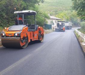 Provinciale 180, conclusi i lavori sul tratto Belforte-Sfercia in tempo per la Tirreno-Adriatico
