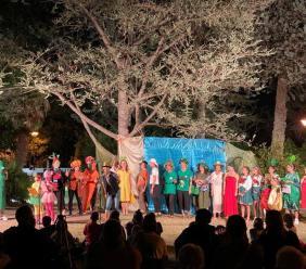 """Corridonia, a Villa Fermani i """"Racconti sotto le stelle"""" incantano bambini e famiglie"""