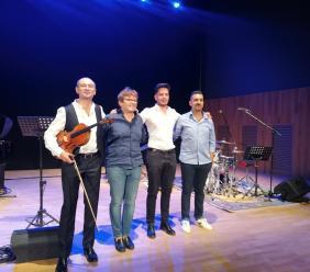 Tolentino, Cipriani Quartet live al Politeama: il fascino vincente del crossover jazz
