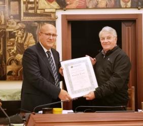 Unione Montana, encomio solenne per l'ex Capitano dei Carabinieri Giuseppe Losito