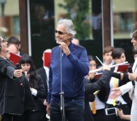 Camerino, Andrea Bocelli e Renato Zero inaugurano la nuova Accademia della Musica