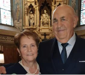 A San Claudio si festeggiano i 50 anni di matrimonio per Assunta e Gino