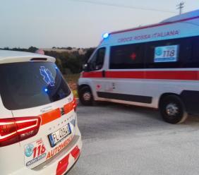Potenza Picena, scontro tra due auto: tre feriti trasferiti in ospedale