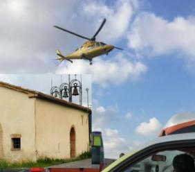 Apiro, sbanda con l'auto e finisce contro il muro di una Chiesa: conducente trasportato a Torrette