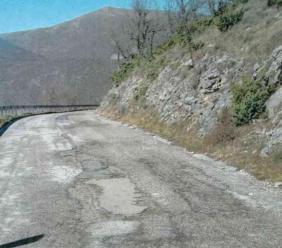 """Strada Provinciale """"Montelago"""", al via i lavori di risanamento: stanziati quasi 200 mila euro"""