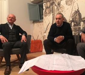 """Da Caldarola a Petriolo, sopralluoghi di Legnini: allo studio misure """"sartoriali"""" di ricostruzione"""