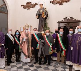 Tolentino celebra San Nicola e la Festa del Pane: presente anche il presidente Feliciotti