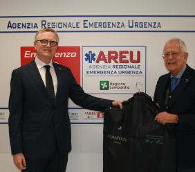 L'azienda Tombolini al fianco di AREU: capi di abbigliamento donati al personale e staff