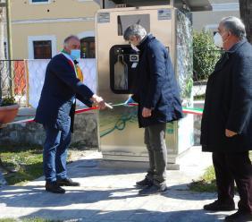 """Valfornace aderisce alla campagna """"M'illumino di meno"""": inaugurata la Casa dell'Acqua"""