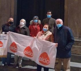 Montecosaro, Giornata per la donazione degli organi: il palazzo comunale si illumina di rosso