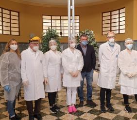 Tolentino, l'hub vaccinale delle Terme Santa Lucia si mette in moto: inoculate le prime 130 dosi