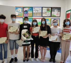Pollenza, premiati i giovani studenti più meritevoli nel nome di Sara Di Castri