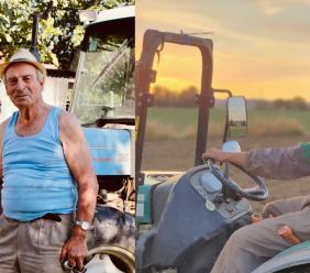 Pierino e Vittorio, due generazioni di agricoltori a confronto: dalle antiche tradizioni al biologico