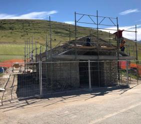 Castelsantangelo, Festa della Madonna della Cona: al traguardo la ricostruzione della chiesetta