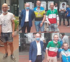Anthropos, maglie tricolori per Farroni e Stacchiotti ai campionati italiani di paraciclismo