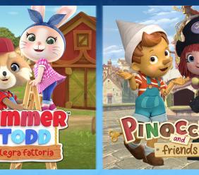 Successo per le due nuove produzioni animate targate Rainbow: la presentazione al Giffoni