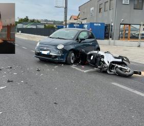 Tragico incidente a Morrovalle, violento scontro tra auto e scooter: la vittima è Luigi Chiacchiera (FOTO)