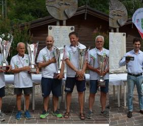Lancio della ruzzola, i maceratesi Marco Stuppini e Silvano Leonori campioni d'Italia