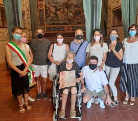 Potenza Picena festeggia la sua centenaria. Cerimonia con il Sindaco