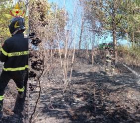 Ancora incendi a Camerino e Valfornace: preso il presunto piromane