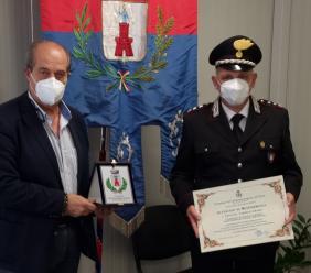 Castelsantangelo, Falcucci saluta il comandante Grasso: grazie ai suoi uomini salvati dal sisma 38 dipinti
