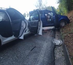 Corridonia - Schianto lungo la Provinciale, due auto coinvolte: interviene l'eliambulanza (FOTO E VIDEO)