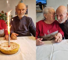 Maria e Renato, un amore lungo 60 anni: nozze di diamante a Montefano